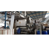 Used Bruckner rope Continuous Bleaching & washing machine