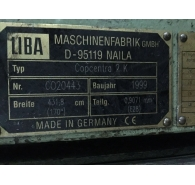 Used Liba Warp Knitting Machine