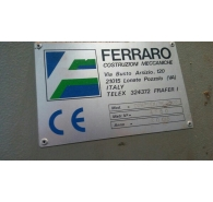 Used Ferraro open compactor machine